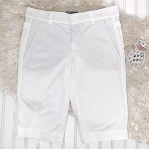 Vince Bermuda Shorts White Size 4